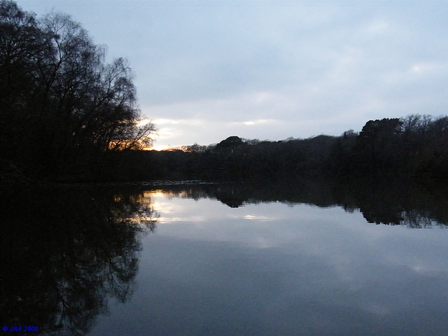 Breach Pond, East Creech.