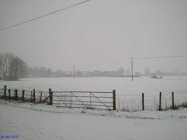 Anderson Parish under the snow