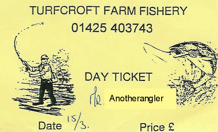 Turfcroft Farm Ticket